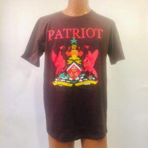True Religion Black Patriot Tee Shirt